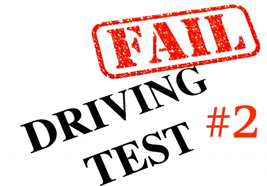 Reason 2 for failing your drive test accredited driving school